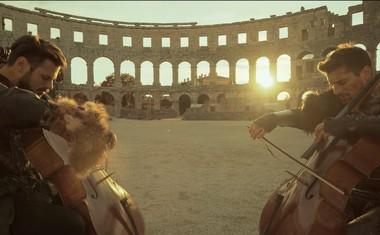 2Cellos z novim videospostom za skladbo iz filma Gladiator!