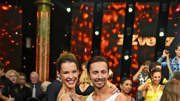 Zvezde plešejo: Naporni plesni treningi za Nušo Lesar! (foto: osebni arhiv)