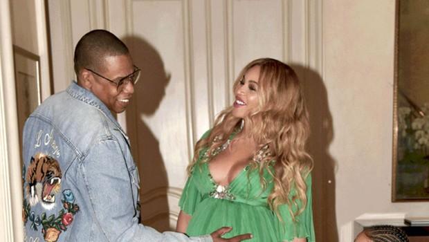 Beyoncé: Dvojčkov se neizmerno veseli (foto: Profimedia)