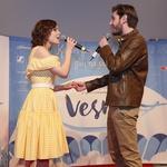 Premierno predstavljena pesem Prvi poljub in Princ iz pravljice. (foto: Helena Kermelj)