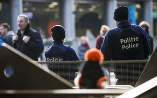 Belgijska policija aretirala moškega, ki je hotel zapeljati v množico