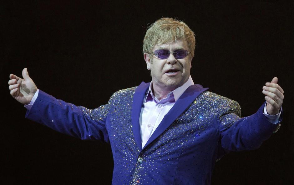 Glasbenik Elton John praznuje 70 let (foto: profimedia)