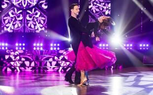 Miha Dragoš in Valeriya Musina izpadla iz šova Zvezde plešejo