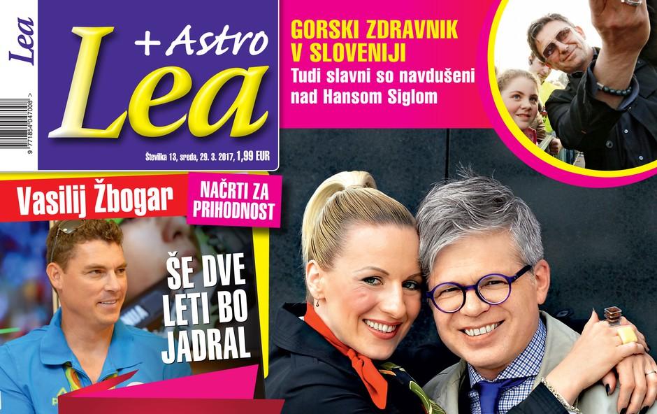 V novi Lei: Nika Urbas in Matjaž Ambrožič - romantika in deloholika (foto: Lea)