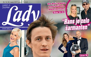 V novi Lady: Peter Prevc je komaj čakal konec sezone