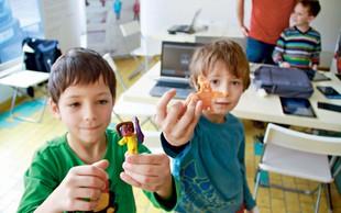Otroci so sami ustvarili svojo računalniško igrico