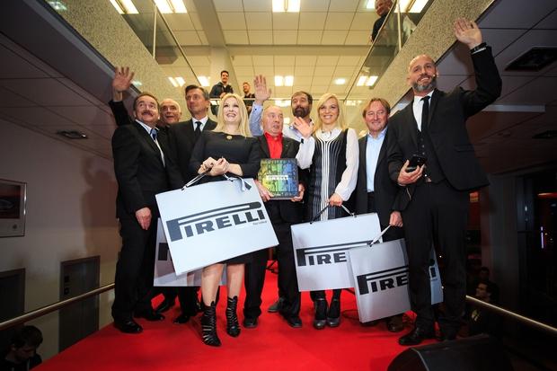 Novi kolesarski center v centru mobilnosti Špan in podelitev koledarjev Pirelli! (foto: Špan Press)