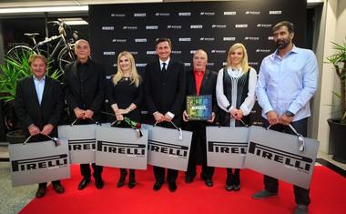 Novi kolesarski center v centru mobilnosti Špan in podelitev koledarjev Pirelli!