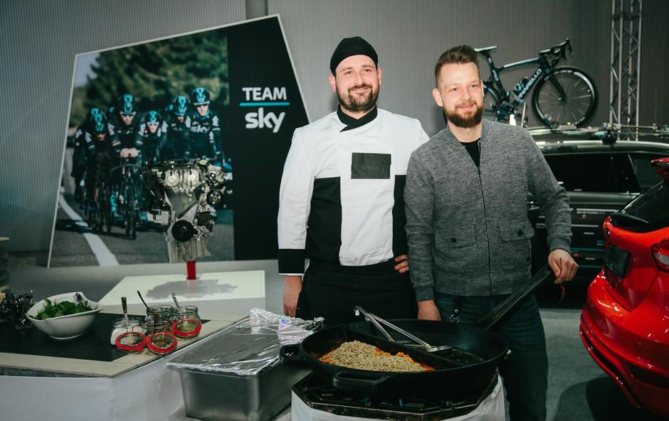 Kaj bo na Avtosalonu počel najbolj znani slovenski TV chef? (foto: Klemen Brumec)