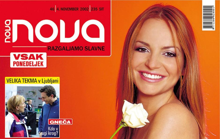 Nova naj naslovnica: Najlepša v 15 letih je bila Oriana (foto: arhiv Nove)