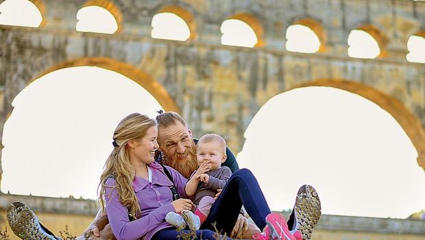 Družina rokometaša Mihe Žvižeja bo kmalu spet skupaj! (foto: Osebni arhiv, Profimedia)