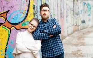 Gašper Bergant in Eva Virc: Stari znanec in novinka iz vrst komikov