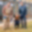 Radijska voditelja Tanja in Kori: Opravila izpit za sprehajalca zavetiških psov
