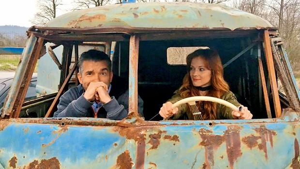 Matej Špehar v kampanjo za obnovo starega VW-kombija (foto: fb)