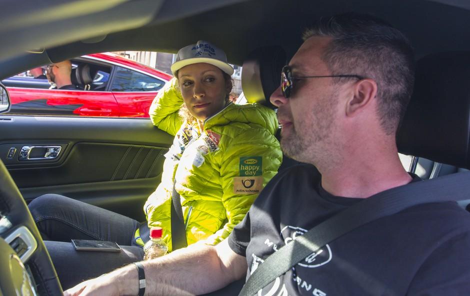 Ford bo na Avtosalonu gostil tudi Ilko Štuhec in Jurija Tepeša (foto: Danijel Čančarevič)