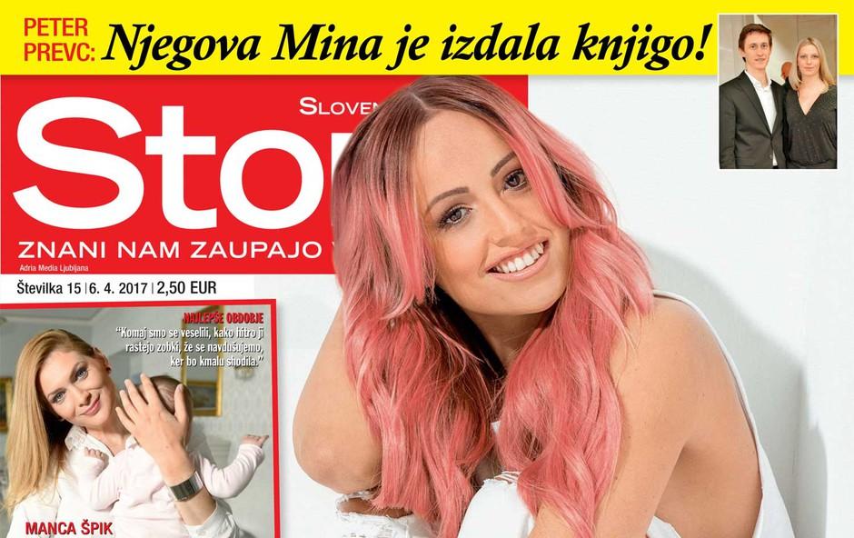 V novi Story: Nina Šušnjara o razhodu s fantom! (foto: Story)