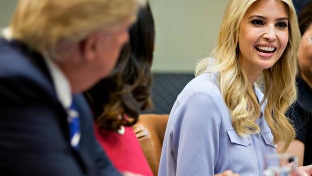 "Ivanka Trump: ""Ko se z očetom ne strinjam, mu to odkrito povem!"" (foto: profimedia)"