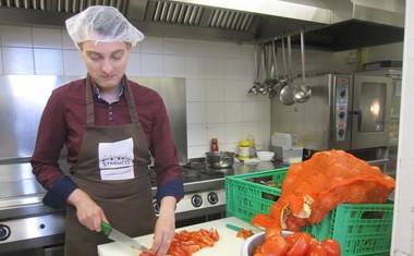 Damjan Murko se je kot prostovoljec Pod strehco zares izkazal!