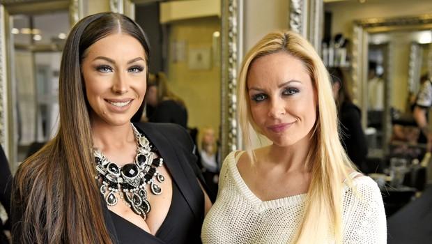 Špela Grošelj in Jelena Karleuša prisegata na isto frizerko (foto: Igor Zaplatil)