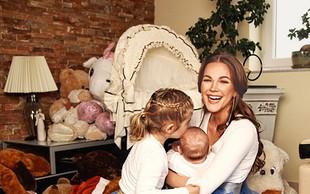 Rebeka Dremelj: Materinstvo ji dobro dene