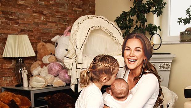 Rebeka Dremelj: Materinstvo ji dobro dene (foto: osebni arhiv)