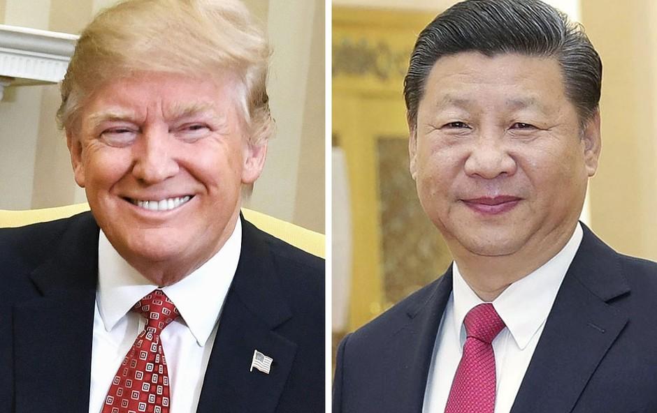 Srečanje Trumpa in Xi Jinpinga v senci ameriškega napada na sirsko vojaško letališče! (foto: profimedia)