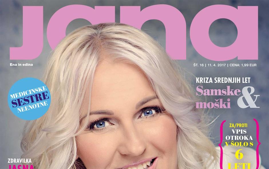 Alenka Godec: Za druge se lažje borim kot zase. Več v novi Jani! (foto: Jana)