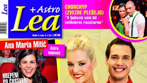 V novi Lei o usodni privlačnosti med Dejanom Vunjakom in Tadejo Pavlič! (foto: Lea)