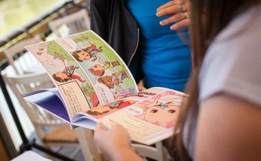 Mali junaki skupaj s Tabuji in kopico znanih obrazov predstavili prav posebno otroško knjigo