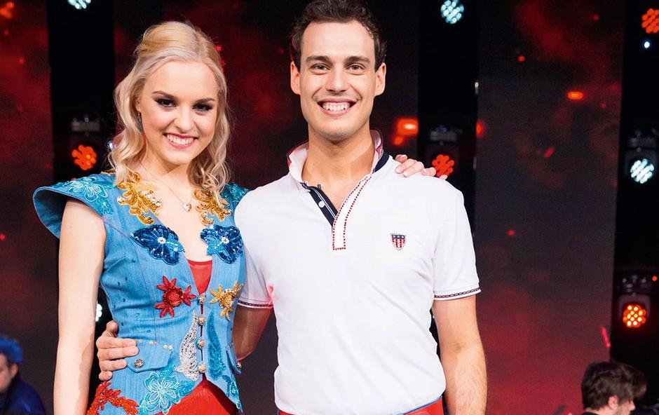Sta Dejan Vunjak (Zvezde plešejo) in soplesalka res zaljubljena? (foto: Miro Majcen)