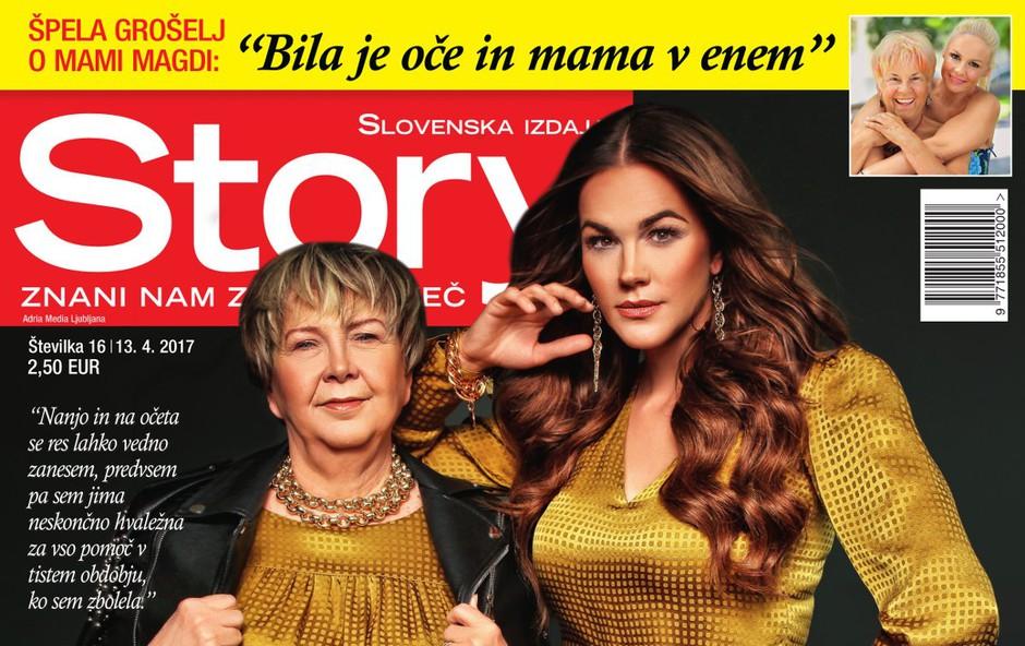Nova Story: Mama Daška je Rebeki Dremelj največja opora (foto: Story)
