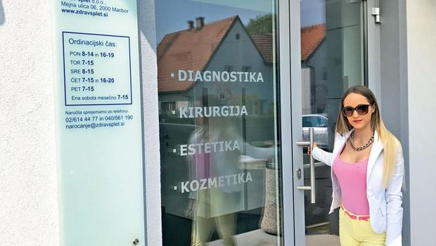 Za Tamaro Sobotič je uspešno povečanje prsi! (foto: MMK)
