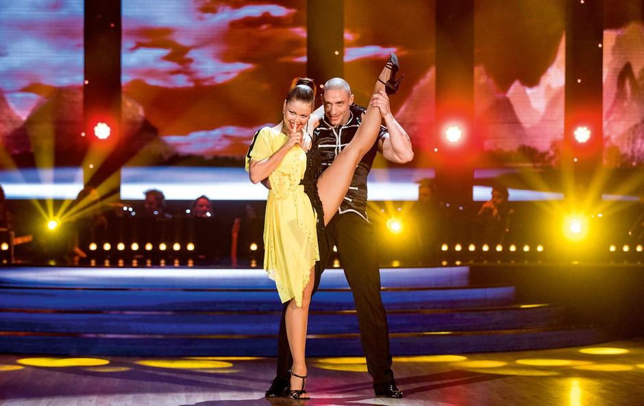 Denis Porčič (Zvezde plešejo): So se na plesnem parketu zanetile iskrice? (foto: Miro Majcen)