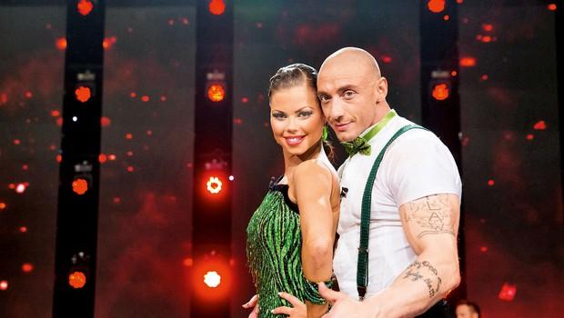 Chorchyp in Martina (Zvezde plešejo): Razvajava se! (foto: Miro Majcen)