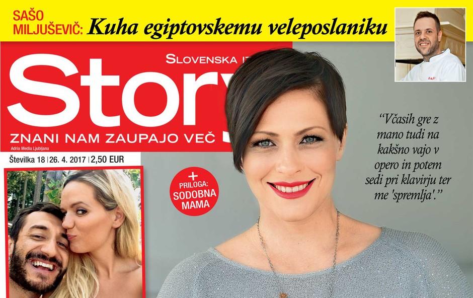 Nuška Drašček v novi Story o svojih zmagah in družini! (foto: Story)