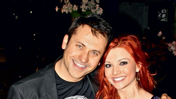 Sta Miki Šarac in Tanja Žagar res v razmerju? (foto: Helena Kermelj)