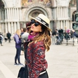 Severina na romantičnem oddihu v Benetkah
