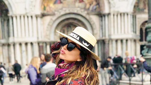 Severina na romantičnem oddihu v Benetkah (foto: osebni arhiv)