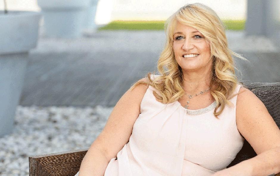 Kozmetičarka slavnih Deborah Mitchell na obisku v Sloveniji (foto: Primož Predalič)