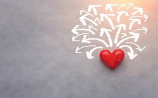Čustvena stanja: Strah nas ovira, ljubezen nas vodi naprej