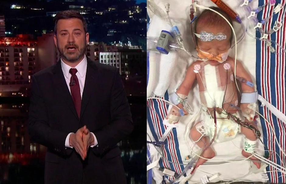 Jimmy Kimmel med oddajo čustveno razodel rojstvo in bolezen sina (foto: profimedia)