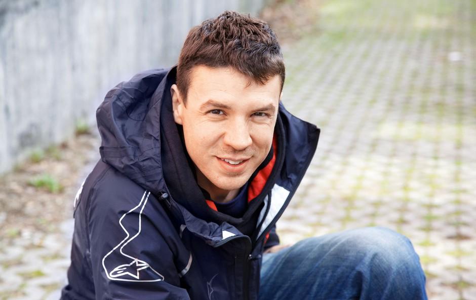 Dirkač Simon Marčič: Malo bolj moder, mnogo bolj motiviran (foto: Aleksandra Saša Prelesnik)