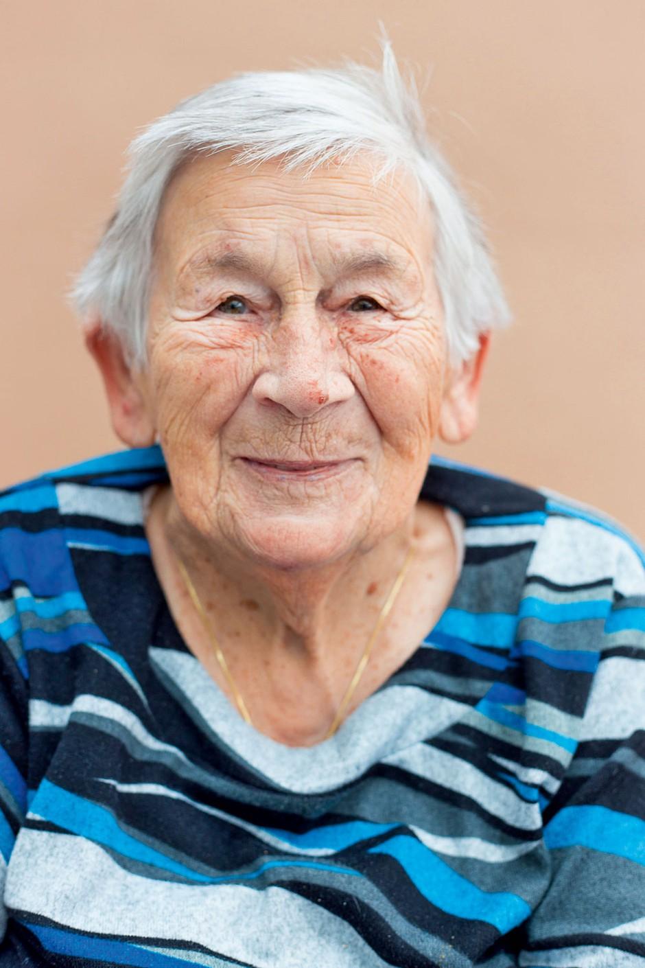 Frančiška, 91 let (foto: Martina Zaletel)