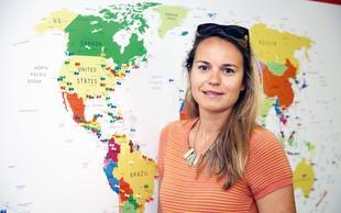 Anuška Cerovšek Beltram: Ljubezen do potovanj od najstniških let