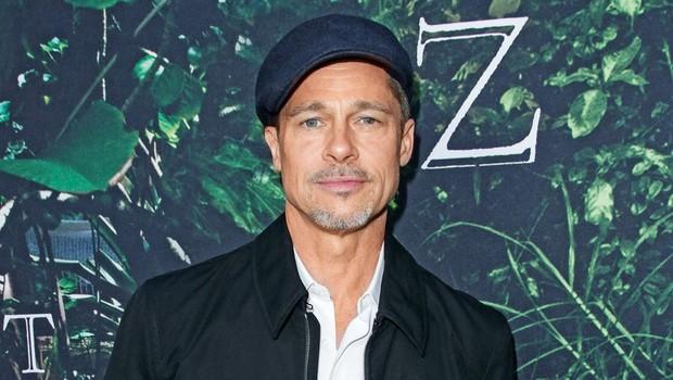 Brad Pitt je močno shujšal (foto: Profimedia)