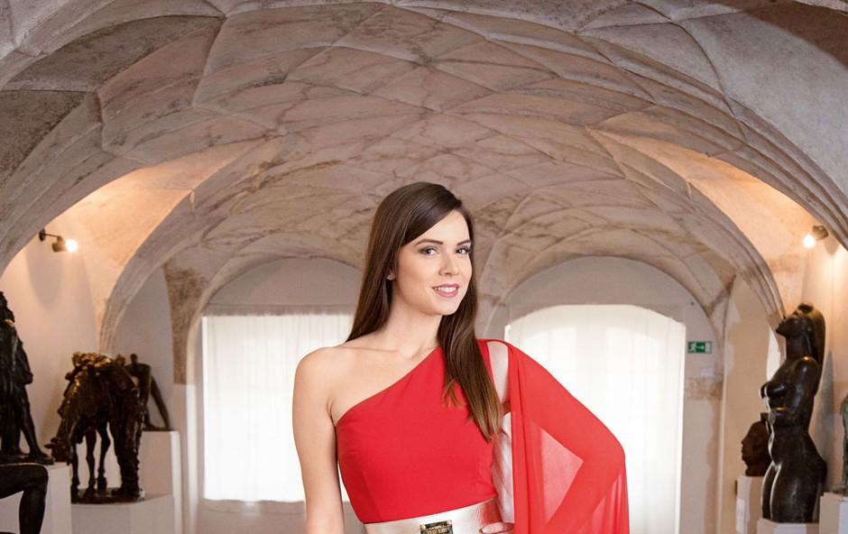 Maja Taradi (Miss Slovenije 2016): Proti nasilju v družinah (foto: Grega Eržen)