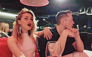 Amber Heard in Elon Musk: Bosta končno  našla srečo v ljubezni?