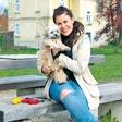 Ana Maria Mitić: Njena psička Betty že obvlada nekaj trikov