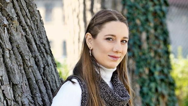 Lea Bartha Pesek: Dojenček ob prvi obletnici poroke! (foto: Helena Kermelj)