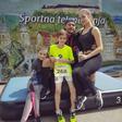 Jure Košir na počitnicah z novim dekletom in otroki